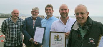 Awards for retiring RNLI crew