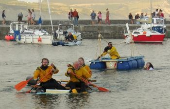 Lifeboat Week Bathtub race