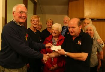 Rotary donation to RNLI